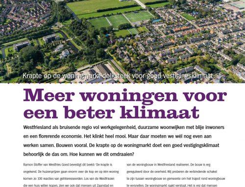 Meer woningen voor een beter klimaat – Westfriese Zaken 03 – juni 2021