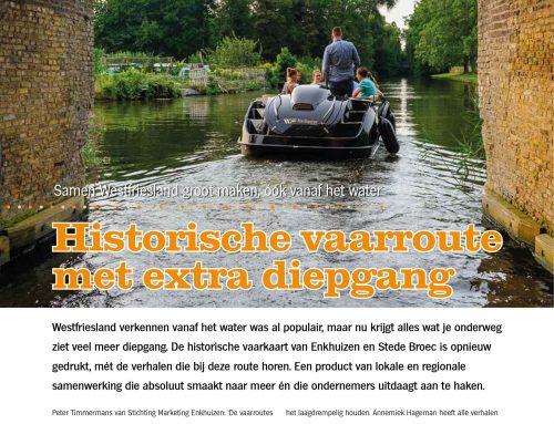 Historische vaarroute met extra diepgang – Westfriese Zaken 04 – juli 2021