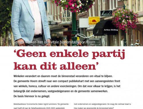 Revitalisering Hoornse binnenstad – Westfriese Zaken 05 – september 2021